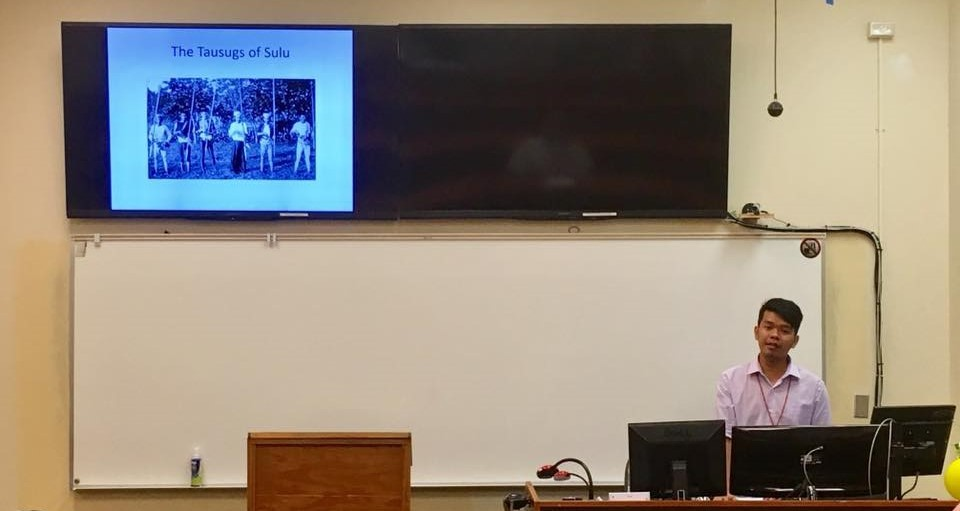 Linguistic Study on Tausug Parang Sabil featured in Filipino Studies Conference at the University of Hawaii