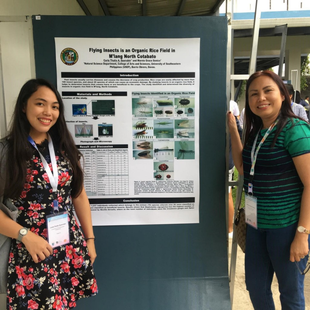 Poster of Ms. Querubin and Dr. Sonico