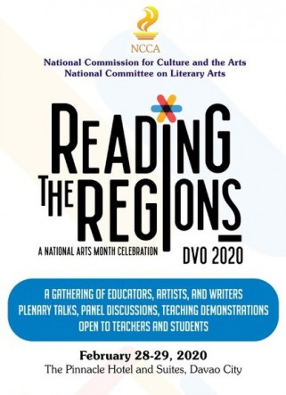 USeP-CAS Language and Literature Department Attends NCCA's Reading the Regions