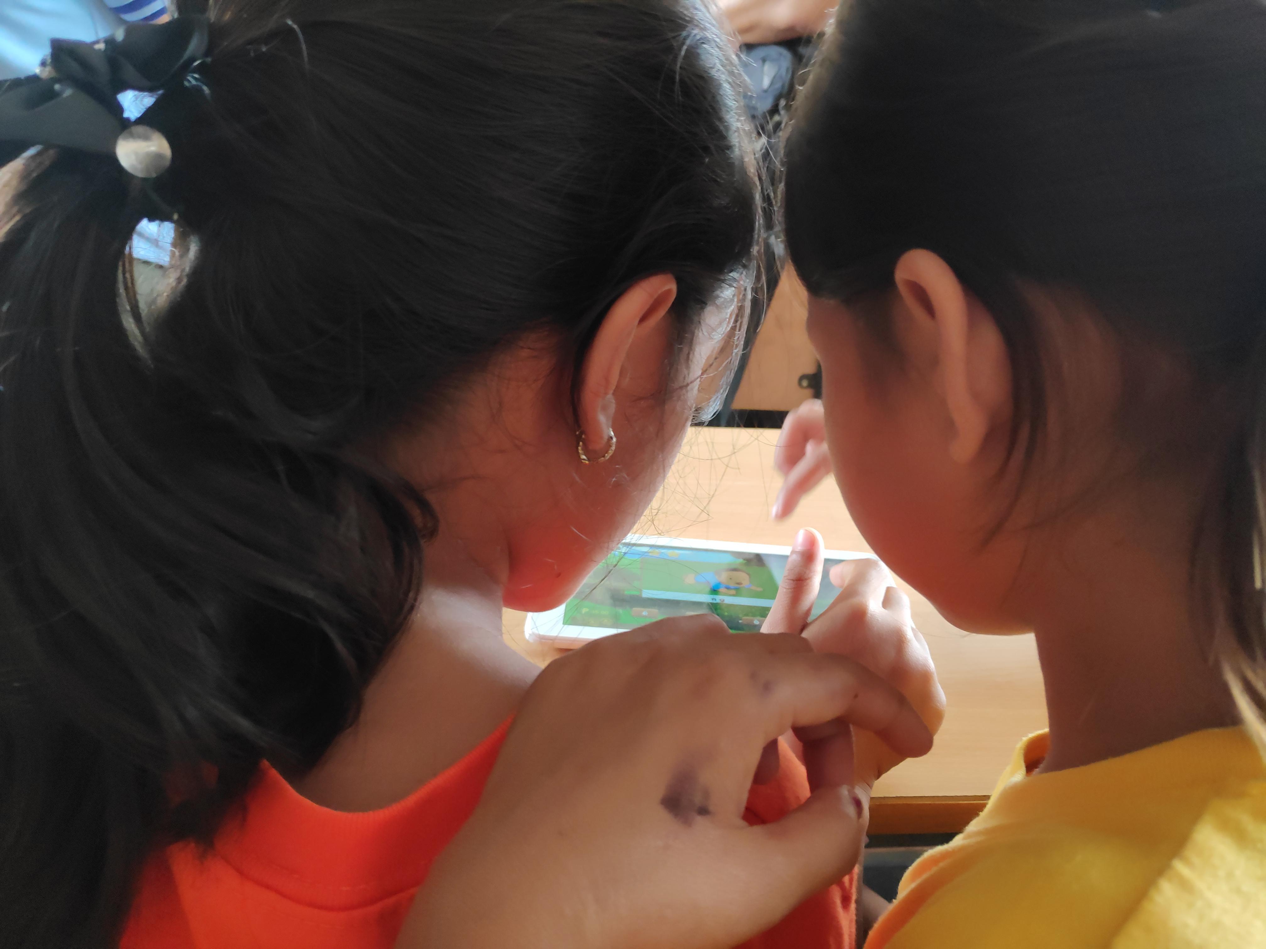 USeP-IC students conduct literacy app field test in Sarangani