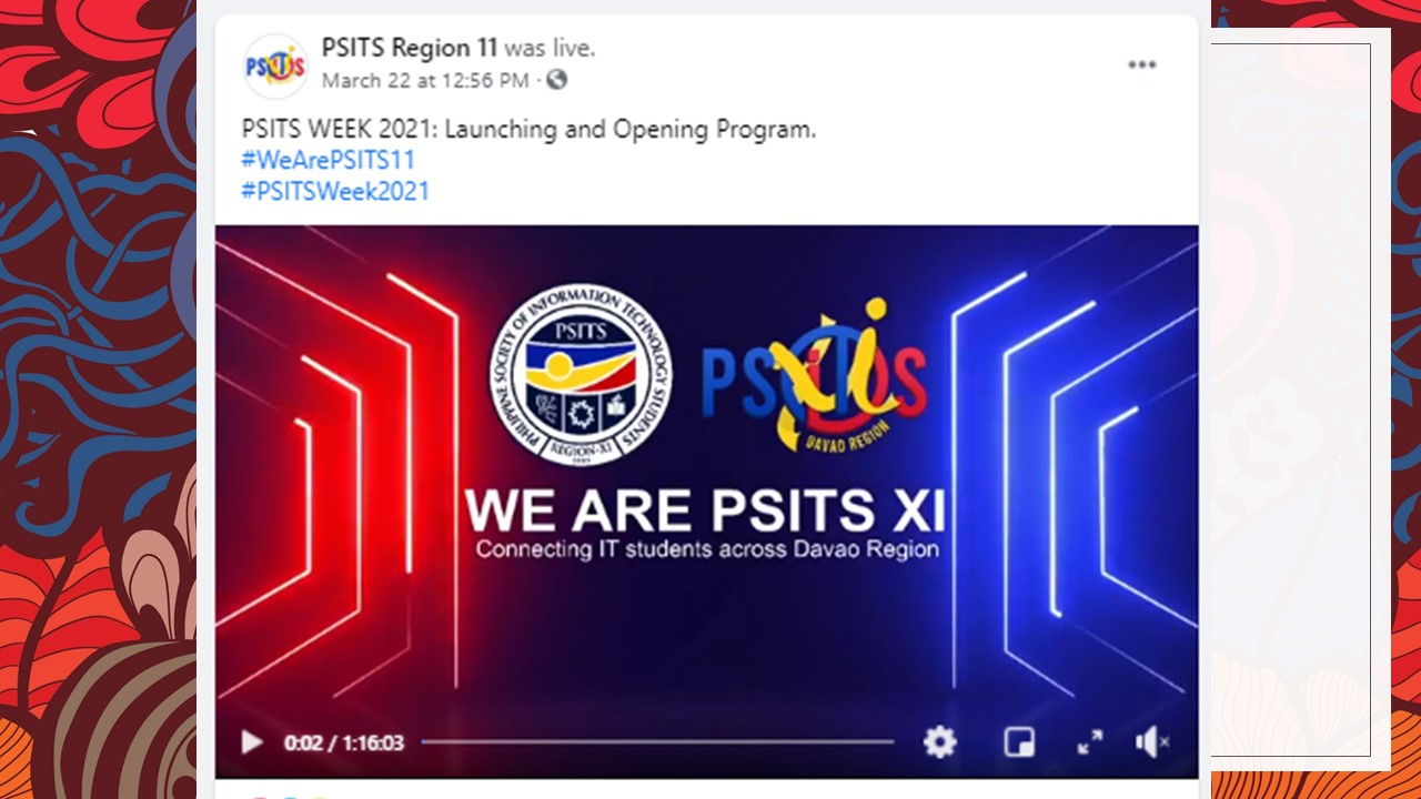 USeP rules Philippine Society of Information Technology Students Region XI (PSITS XI) Week 2021