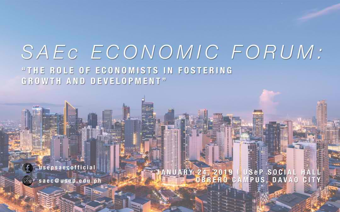 USeP-SAEc conducts 1st Economic Forum 2019