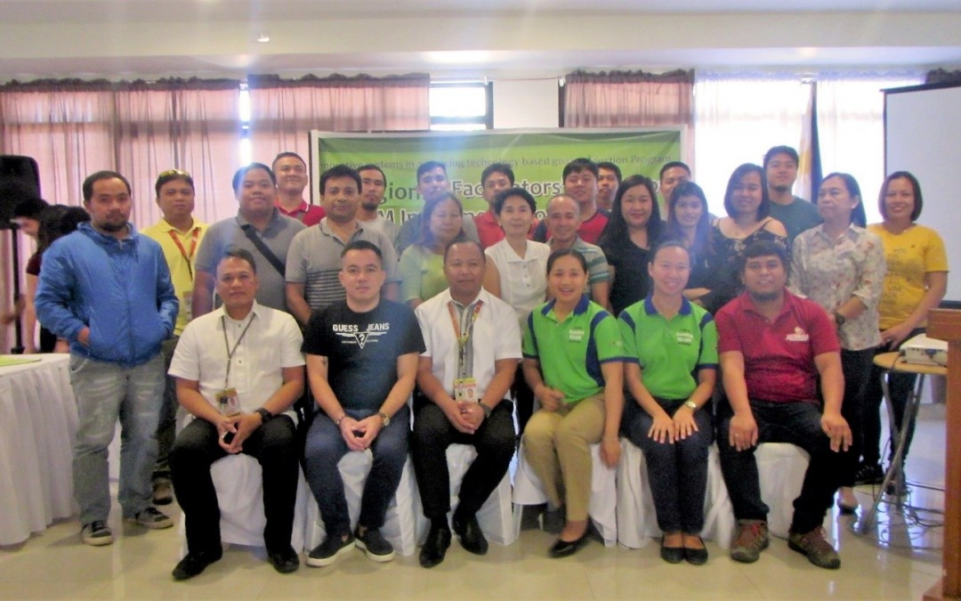 USeP, DA-RFO XI conduct regional training for goat enterprise