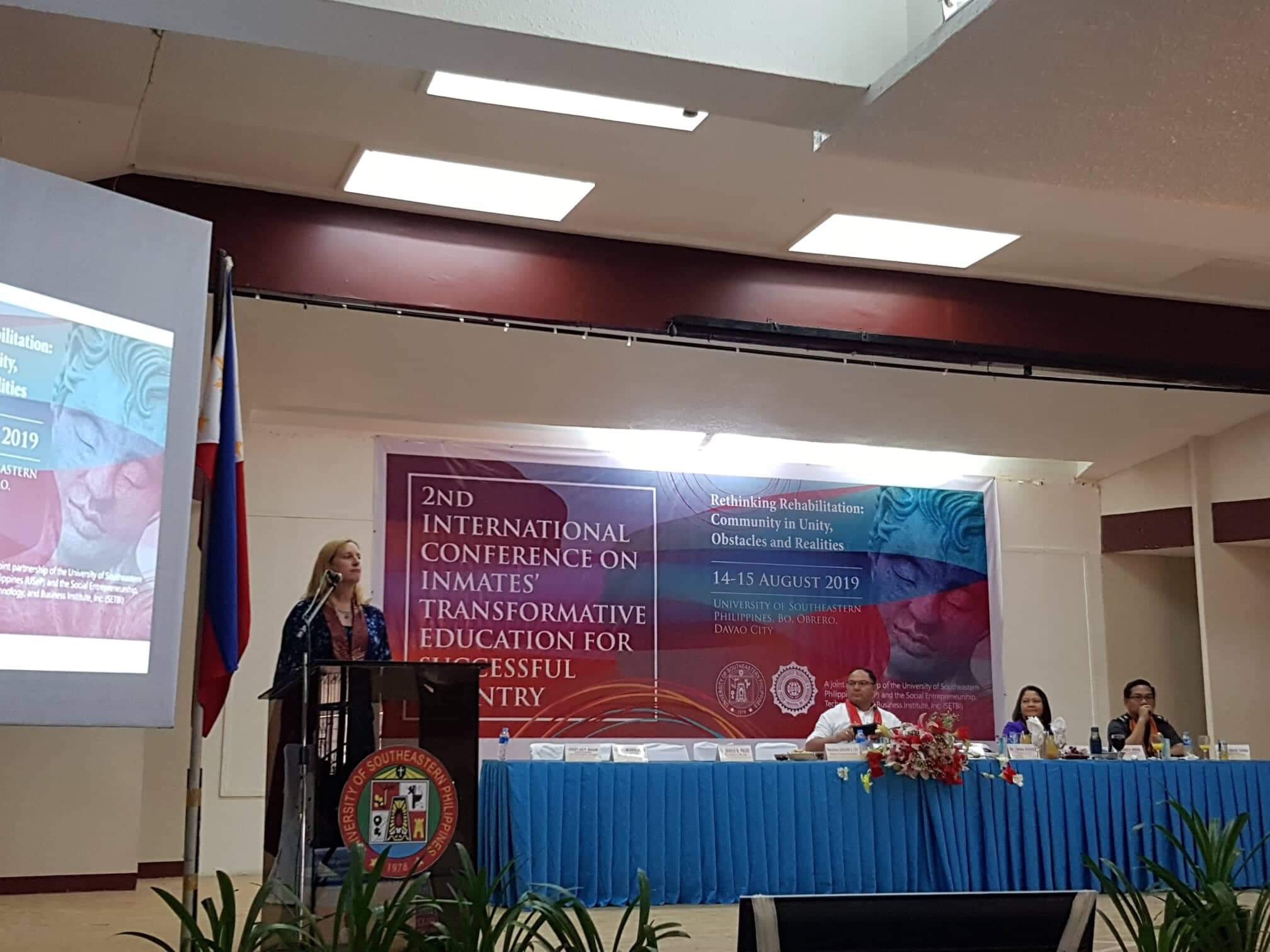 USeP, SETBI hold 2nd International Conference on Inmates' Transformative Education  for Successful Re-entry