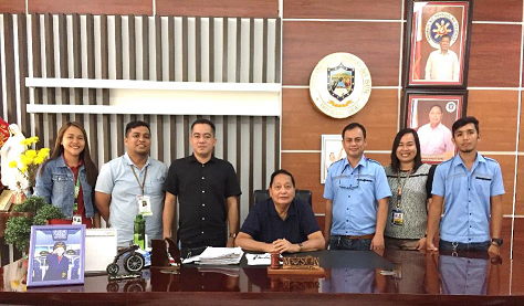 GOAT PROJECT MEETING WITH DAVAO DEL SUR GOVERNOR