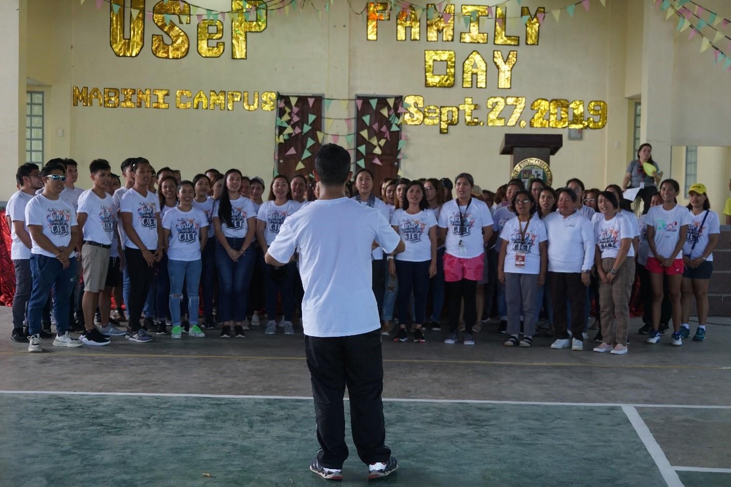 USeP holds Uniwide Family Day