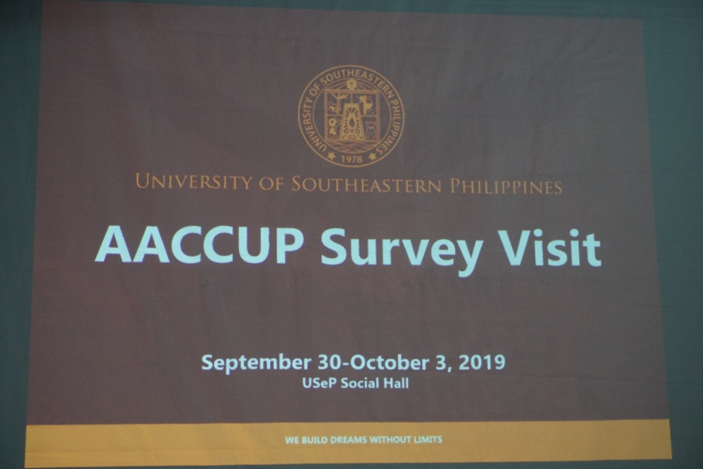 USeP Colleges scheduled for AACCUP Survey Visit
