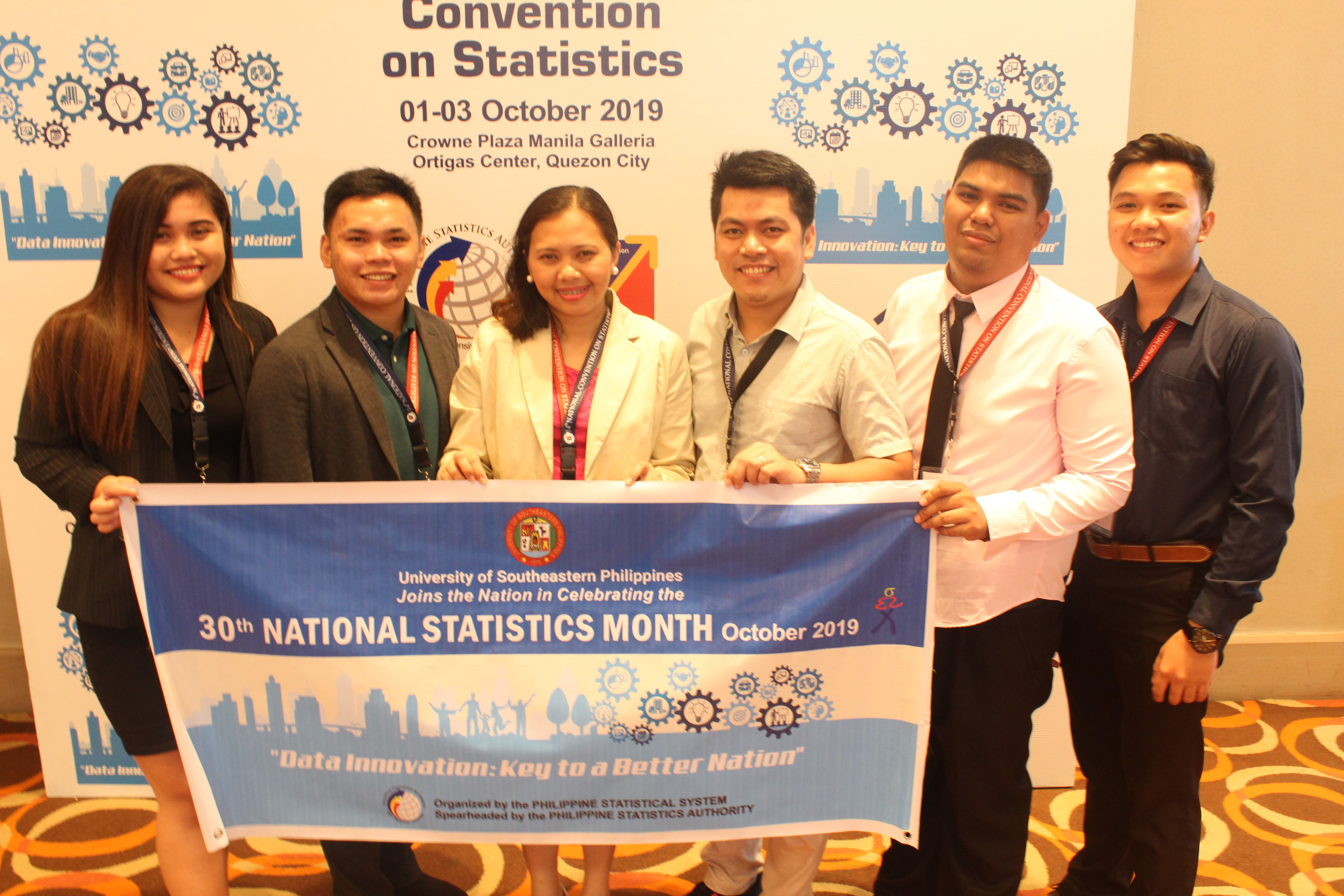 10 papers from USeP accepted in the 14th National Convention on Statistics