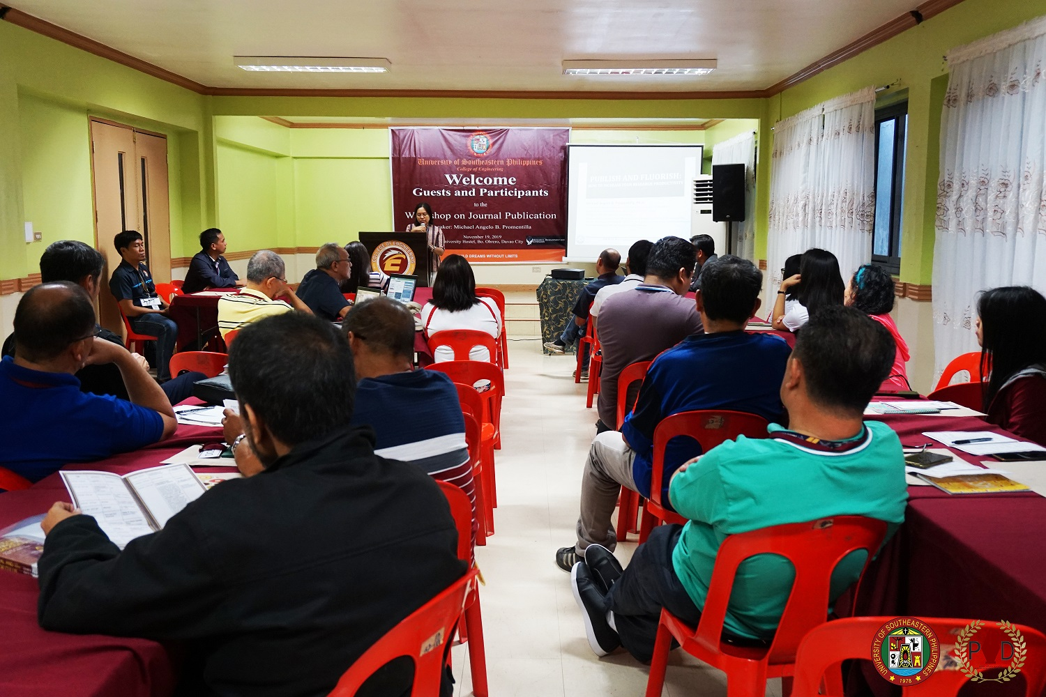 USeP conducts Writeshop on Journal Publication in COE