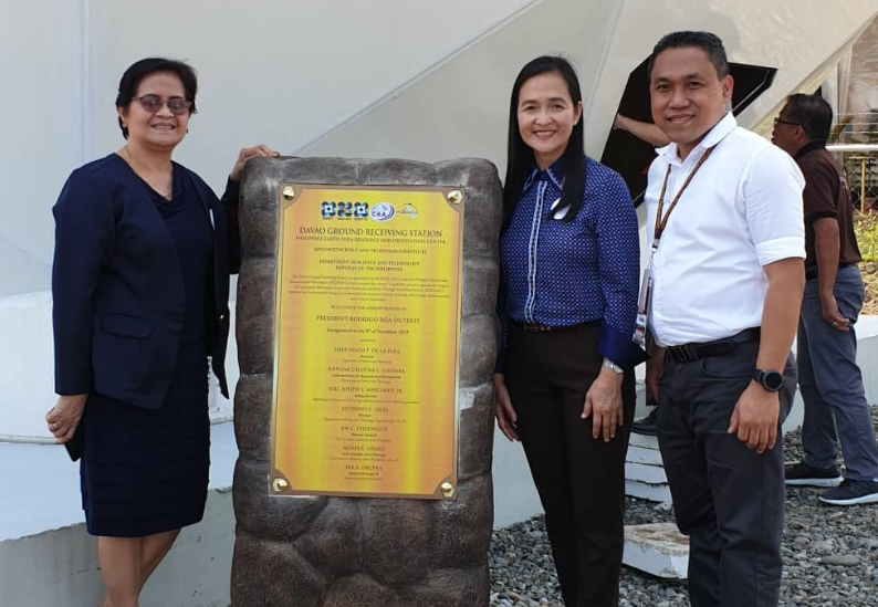 USeP attends the Inauguration of PEDRO Davao Ground Receiving Station